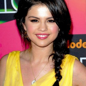 Selena Gomez Braided Hairstyle