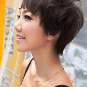 Sexy Japanese Girls Short Haircut