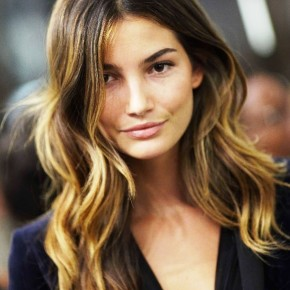 Sexy Ombre Hair From Lily Aldridge