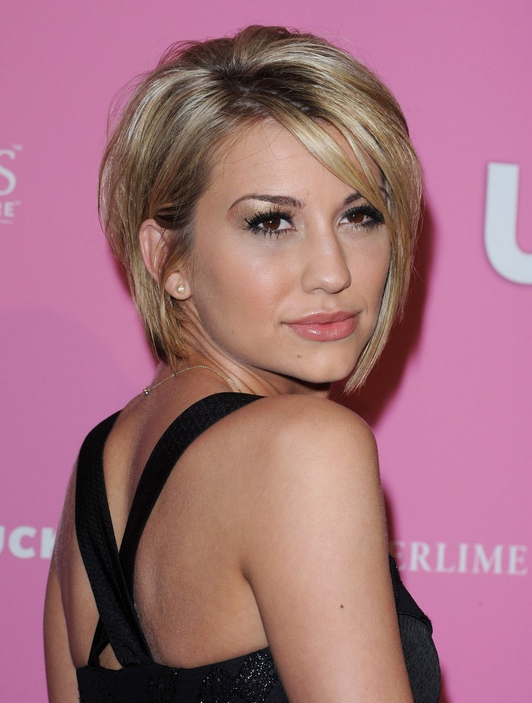 Pictures of Short Bob Hairstyles No Bangs