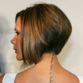 Short Bob Hairstyles Rear View