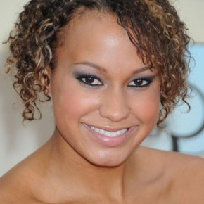 Short African American Hairstyles for Round Face