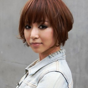 Short Asian Hairstyles 2013