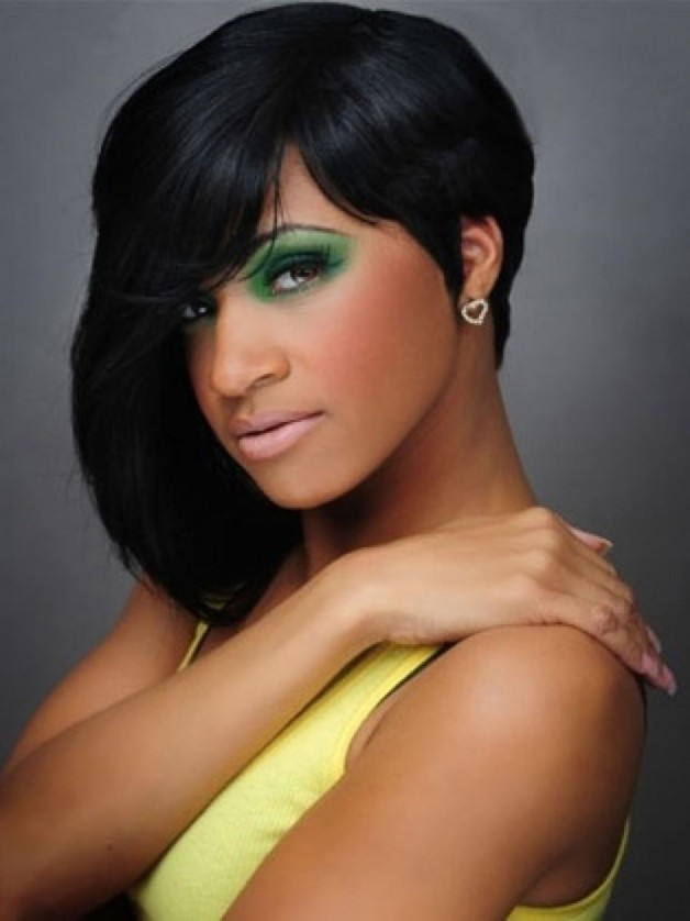 Short Black Hairstyles with Weave