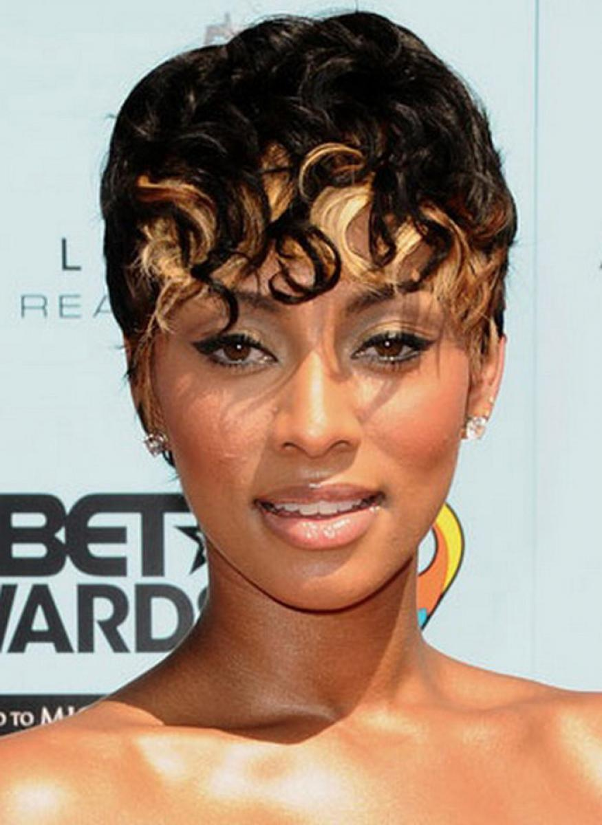 Fine Pictures Of Short Black And Blonde Hairstyles Hairstyles For Women Draintrainus