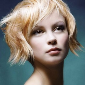 Short Blonde Hairstyles Funky
