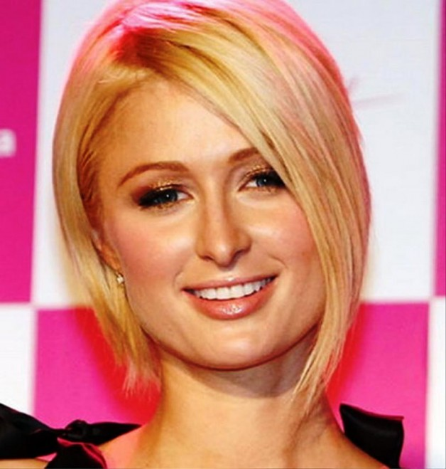 Short Bob Round Face Hairstyles