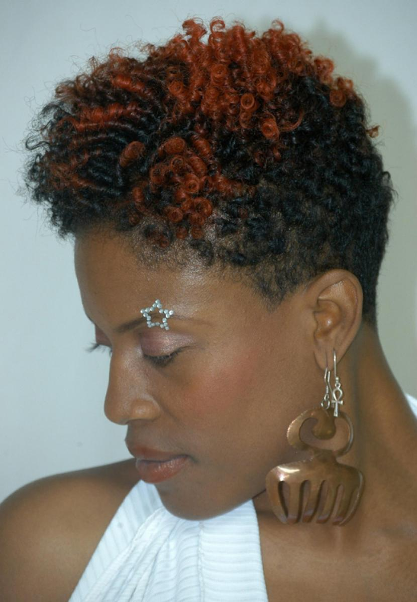 Pictures of Short Curly African American Hairstyles