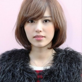 Short Japanese Bob Hairstyle For Women