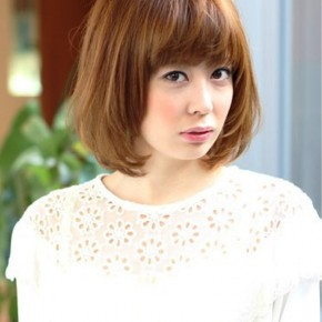 Short Japanese Hairstyle For Women