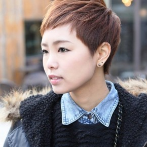 Short Layered Boyish Hairstyle