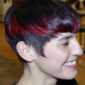 Short Red and Black Hairstyles