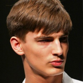 Short Straight Haircuts For Men 2013