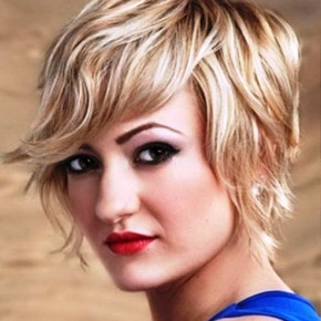 Short Wavy Hairstyles For Square Faces