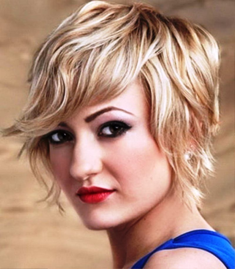 Curly Hair Square Face: Pictures Of Short Wavy Hairstyles For Square Faces