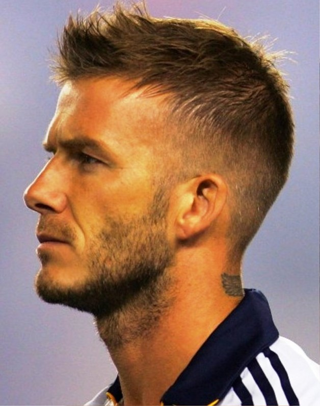 Side View Of David Beckham Hairstyles