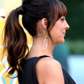 Side View Of Loose Ponytail