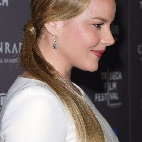 Side View Of Ponytail Hairstyle
