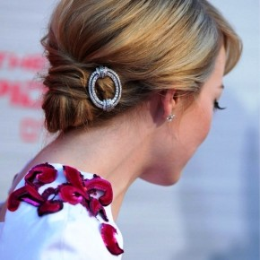 Side View Of The Hair Knot