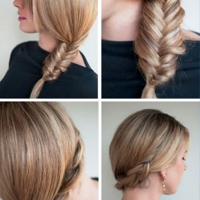 Simple Casual Fishtail Side Braid