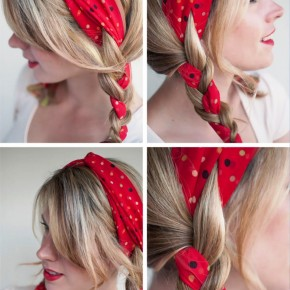 Simple Easy Braided Daily Hairstyle1