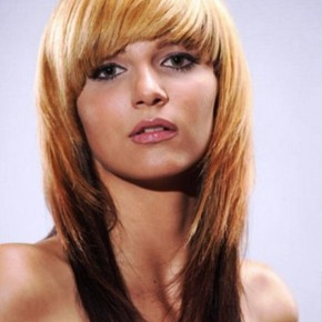 Straight Hairstyles Medium Caramel
