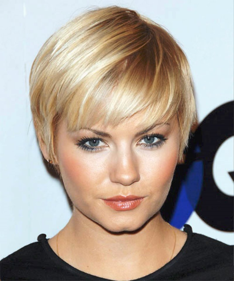 Super Short Hairstyles For Straight Hair Pictures
