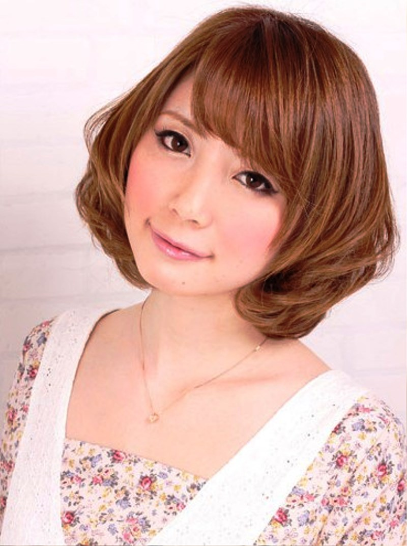 Hairstyle Japan : Pictures of Sweet Short Japanese Hairstyle