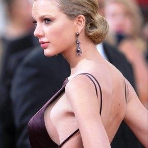 Taylor Swift Curly Updo Hairstyles 2013