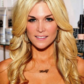 Tinsley Mortimer Layered Long Wavy Blonde Hairstyle