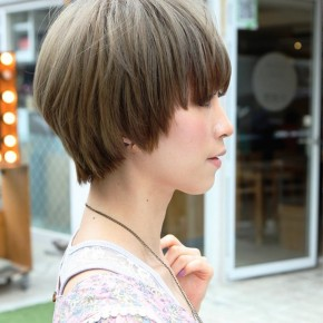 Trendy Asian Short Straight Haircut