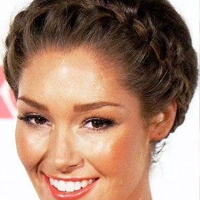 Trendy Braided Updo 2013