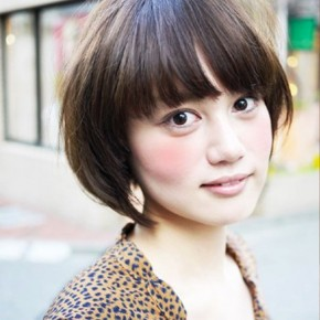 Trendy Japanese Hairstyle