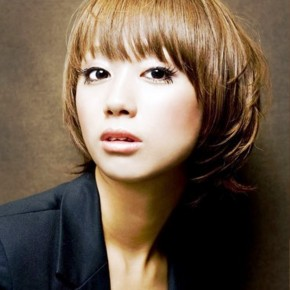 Trendy Japanese Hairstyle For Women