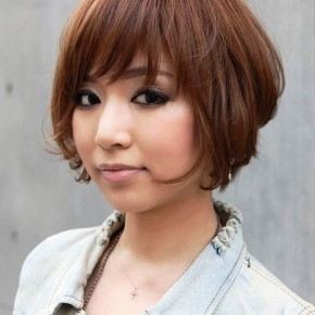 Trendy Short Japanese Bob Haircut With Bangs