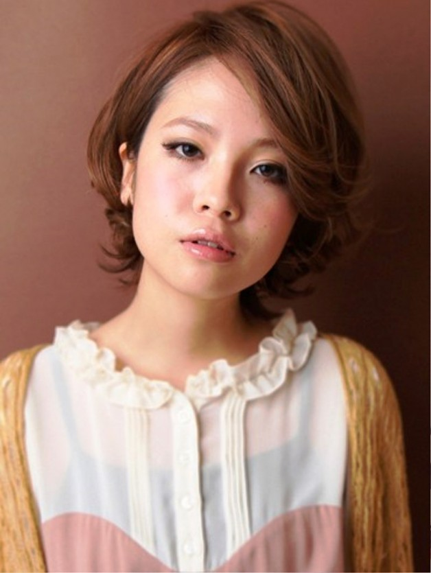 Trendy Short Japanese Hairstyle