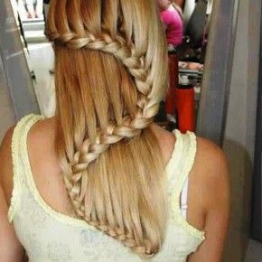 Trendy Waterfall Braid Hairstyles For Women