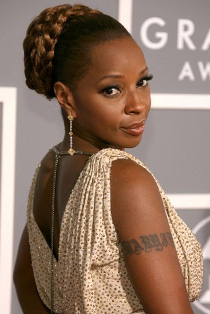 pictures of updo braided hairstyles for black women