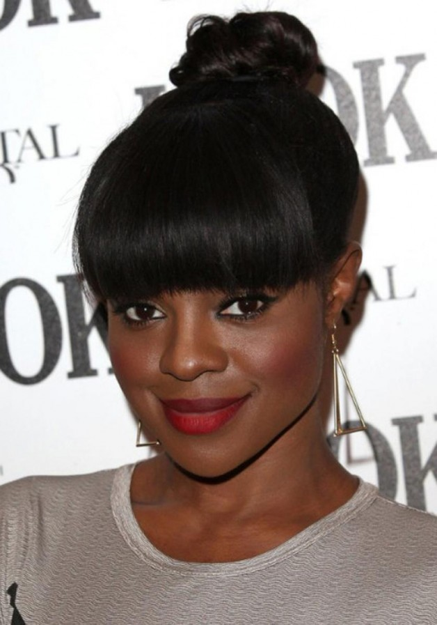 Remarkable Updo Hairstyles For Black Women 2013 Behairstyles Com Short Hairstyles For Black Women Fulllsitofus