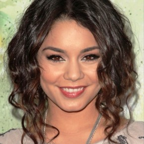 Vanessa Hudgens Medium Length Curly Hairstyle