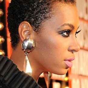 Very Short Curly Black Hairstyles