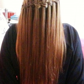 Waterfall Braid For Long Hair