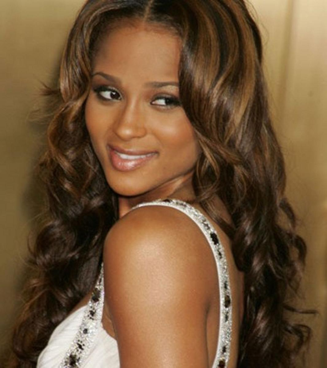 Pictures of Wavy Curly Weave Hairstyles for Black Women