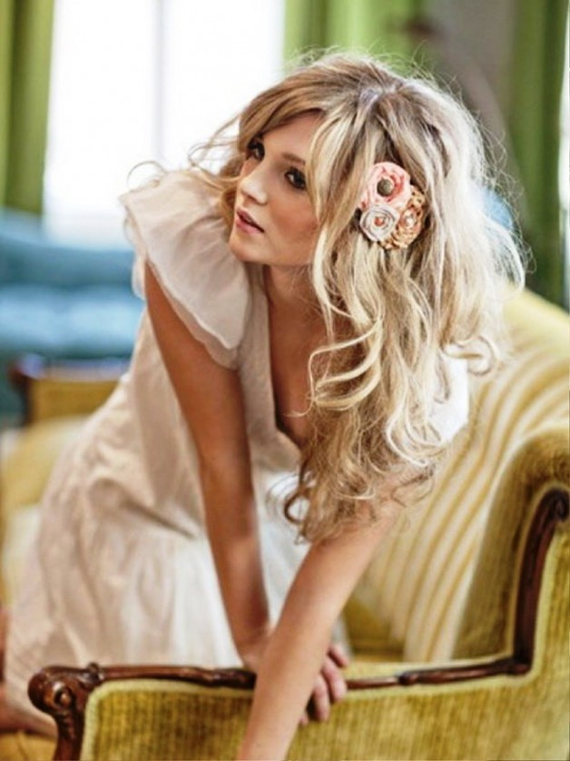 Pleasant Gorgeous Wavy Hairstyles For Long Hair Behairstyles Com Hairstyles For Women Draintrainus