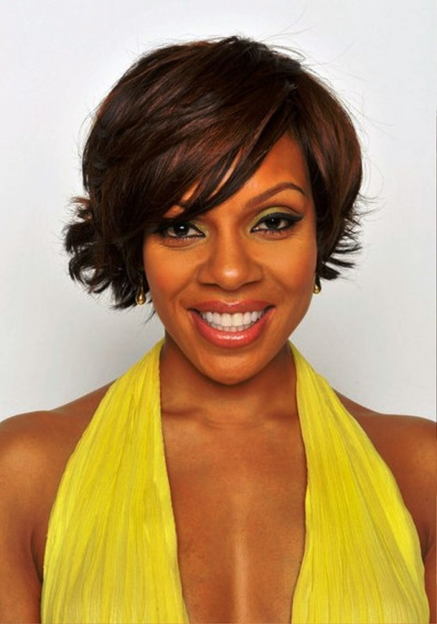 Wendy Raquel Robinson Short Haircut