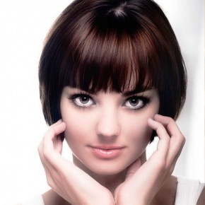 Women Round Face Hairstyles 2013