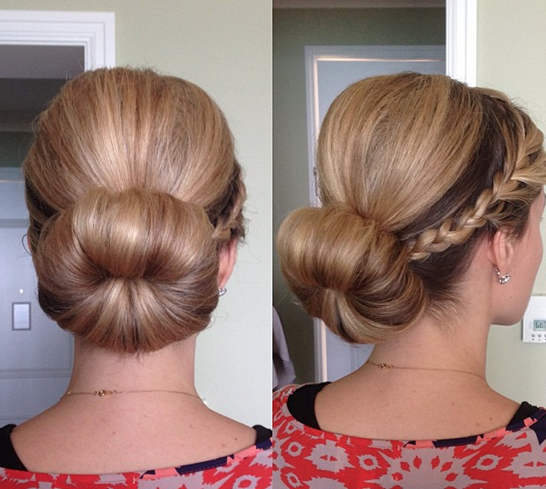 Creative Updo Hairstyle