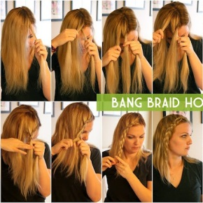 Pleasing Braided Hairstyles Page 2 How To Bang Braids Guide Straight Side Hairstyles For Women Draintrainus