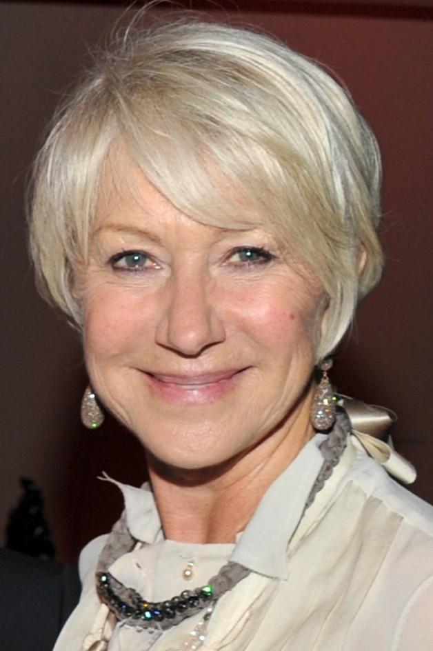 Short Hairstyles Gray Hair Women