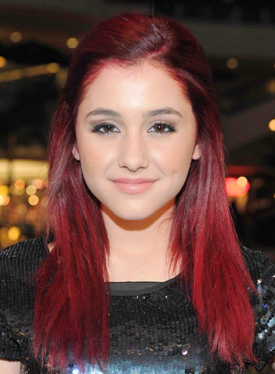 Ariana Grande Hair Half Up